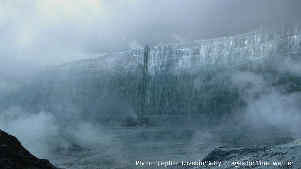 Die große Mauer von Game of Thrones