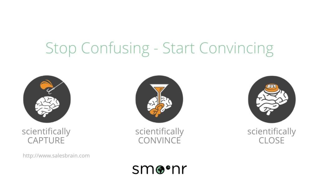 Stop confusing start convincing